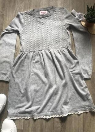 Плаття тонкої вязки