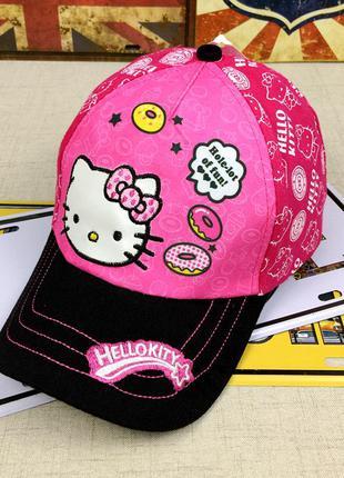 13-43 кепка hello kitty хелло китти детская бейсболка панамка ...