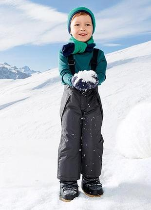 Зимние лыжные штаны для мальчика 1-2 года  от немецкой торгово...