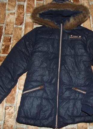 Куртка крутяк девочке зима  yigga(topolino) подросток 9 и 11 и...