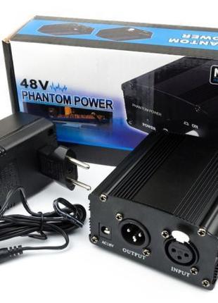 Фантомное питание на 48V для конденсаторного микрофона (BM-800 др