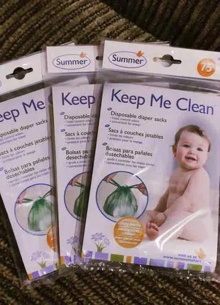 Одноразовые пакеты для использованных подгузников, Keep me Clean