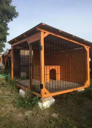 Вольеры и будки для собак и других животных