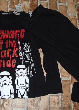 Пижама звездные войны 8-10лет новая
