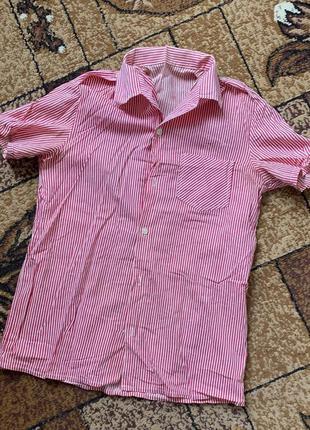 Рубашка в полоску. хб