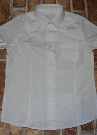 Белая блузка 4 - 5 лет новая девочке
