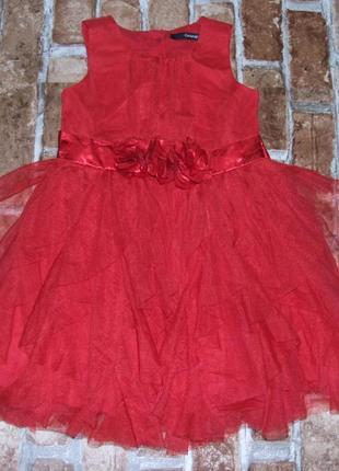 Платье нарядное 1-2 года  сток