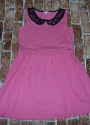 Платье хб 11-12лет сток