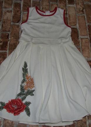 Платье нарядное 10-12лет сток