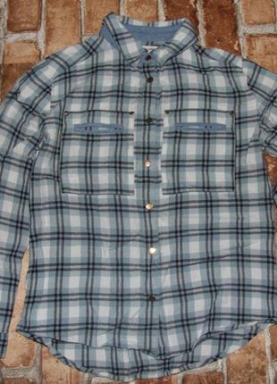 Рубашка девочке блузка вискоза 8 лет