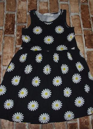 Платье сарафан хб 4-6 лет нм сток