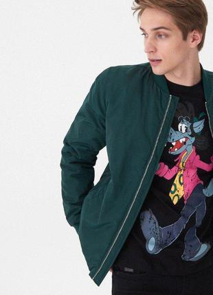 Новая демисезонная куртка-бомбер ноusе