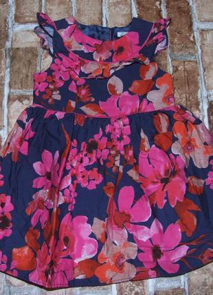 Платье нарядное 2-3 года george