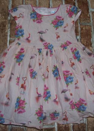 Платье нарядное 3-4 года m&co