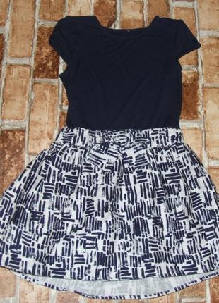Платье хб вискоза 7лет сток