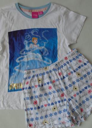 Пижама 7-8 лет 128 см primark англия