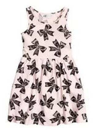 Платье хб лето 1-2 и 4-6лет нм сток