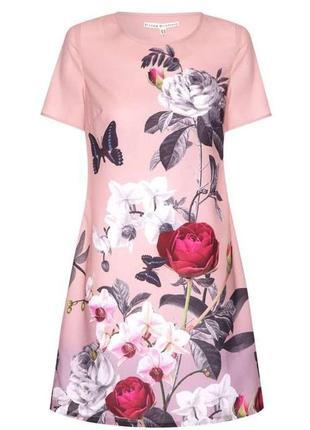 Платье с цветами плаття uttam london