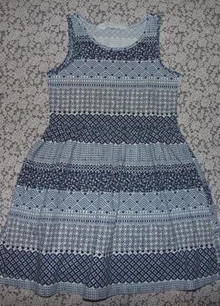 Платье хб лето 2-4года нм
