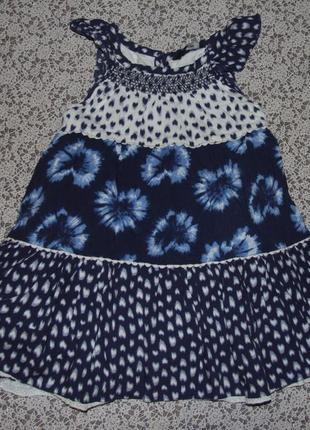 Платье наярдное 2-4года