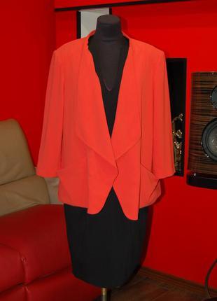 Debenhams! яркий стильный женский пиджак, большой размер