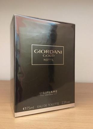 Giordani man туалетная вода giordani gold notte [джордани голд...