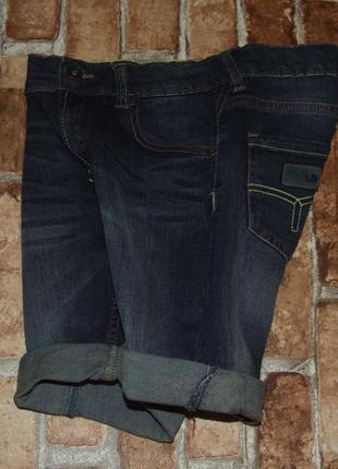 Шорты джинс 10лет стрейч