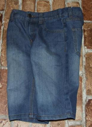 Шорты джинс 6-7лет деним