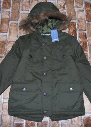 Куртка деми еврозима 4-5 лет парка мальчику pepperts