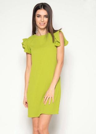 Красивое платье в модном цвете