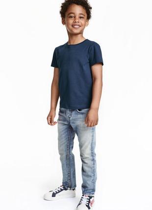 Джинсы голубые мальчику 3-4года