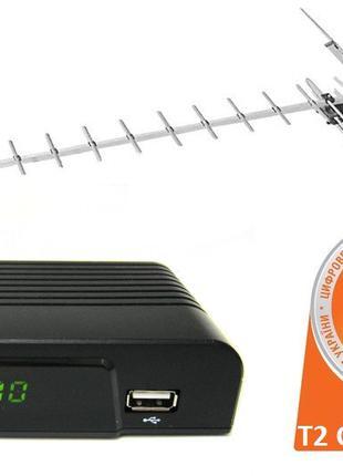 Т2 HD - комплект для приема Т2 телевидения+ антена!