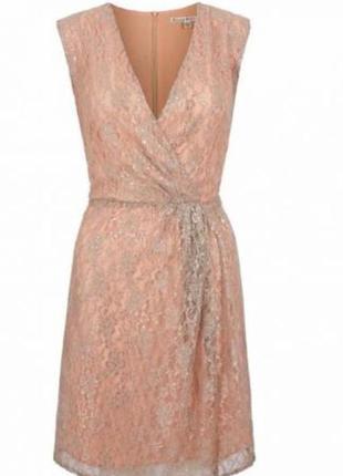 Платье с люрексом плаття uttam london верх на запах