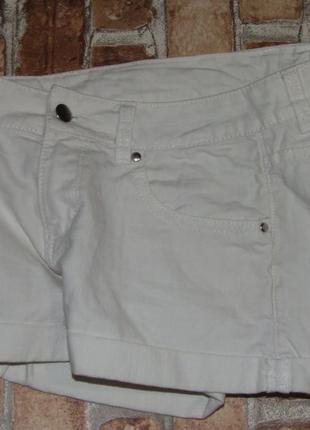 Белые шорты 13-14 лет h&m