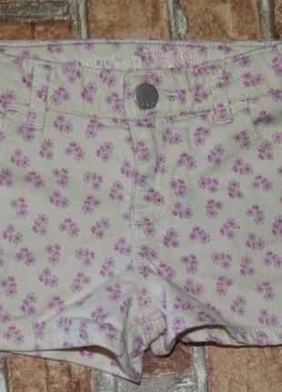 Шорты джинсовые 5 лет девочке
