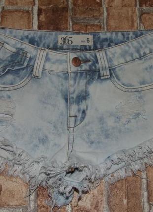 Шорты короткие модные джинс 13-14 лет деним