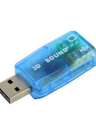 Звуковая карта USB микрофон наушник