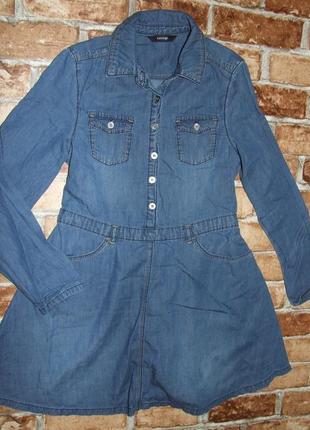 Платье джинсовое 9-10 лет george