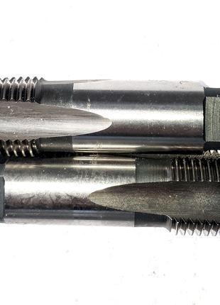 Метчик машинный трубный G 1/2, комплектный, (Р6М5)