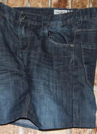 Шорты джинс 7лет okaidi
