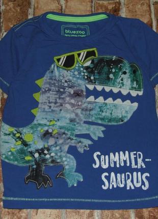 Хлопковая футболка 2-3 года