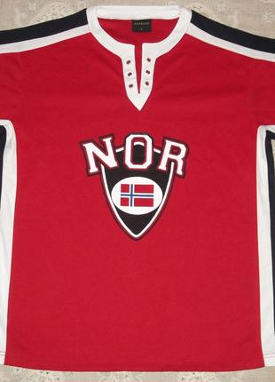 Футболка Norge fotball, розмір L