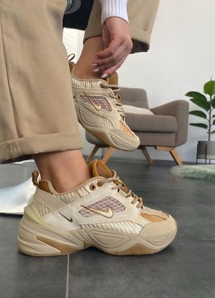 Nike m2k tekno linen & wheat & ale brown