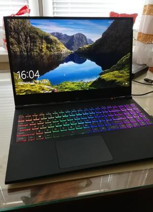 """Игровой ноутбук EVOO (15.6"""" FHD IPS 144Hz/i7-9750H/1660Ti/16GB..."""