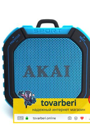 Портативная акустическая система AKAI ABTS-B7 Blue