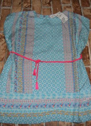 Новое платье туника 7-8 лет