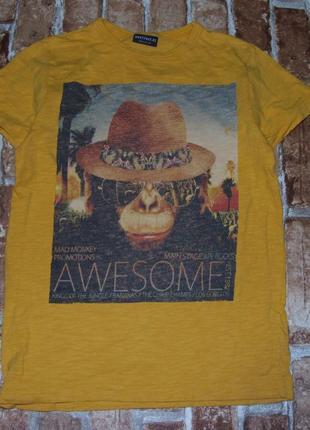 Хлопковая футболка 9 лет