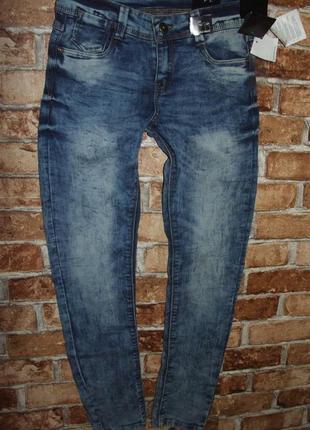 Новые джинсы 11-12лет 152 см page young суперслим суперстрейч