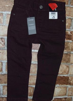 Новые джинсы 3-4 года george