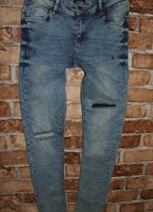 Новые крутые стрейч джинсы 11-12 лет page one young